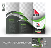 Football Competition Brochure Royalty Free Stock Images
