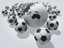 Football concept Stock Photos