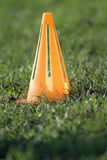 Football cone Royalty Free Stock Image