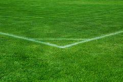 Football corner Stock Photo