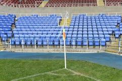 Football corner flag Stock Image