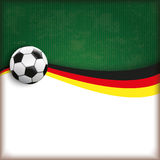 Football Cover Germany Royalty Free Stock Image