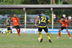 Football competition in Thailand Stock Photos