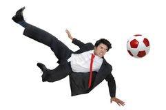 Football crazyness Stock Image