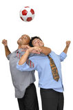 Football crazyness Stock Photo