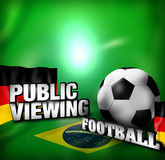 Football Creative Design. Football Creative Background Graphic Design Stock Photography