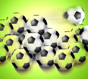 Football Creative Design. Football Creative Background Graphic Design Royalty Free Stock Photo
