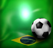 Football Creative Design. Football Creative Background Graphic Design Royalty Free Stock Image