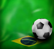 Football Creative Design. Football Creative Fresh Color Image Illustration Design Royalty Free Stock Image