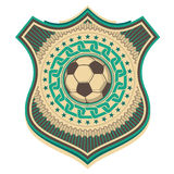 Football crest. Stock Photography