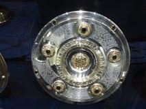 HSV Hamburg Germany. Football cup. Football cup HSV Hamburg Germany royalty free stock image
