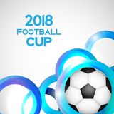2018 Football Cup Sport Background Vector Illustration. EPS10 Stock Photos
