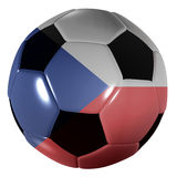 Football czech republic Stock Photos