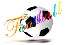 Football 3D Royalty Free Stock Image