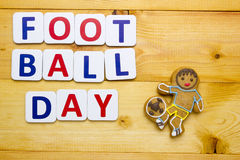 Football Day Royalty Free Stock Images