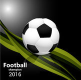Football . Design for Brasil soccer champion Royalty Free Stock Image