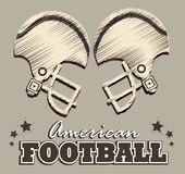 Football design Royalty Free Stock Image