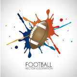Football design Stock Photography