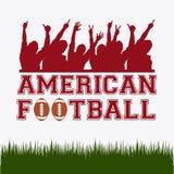 Football design Royalty Free Stock Photo