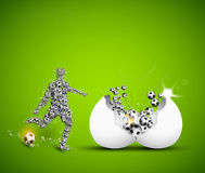 Football design template Royalty Free Stock Photography