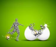 Football design template stock illustration