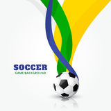 Football design. Vector illustration of football design Stock Photography