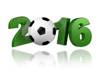 Football 2016 design Royalty Free Stock Image
