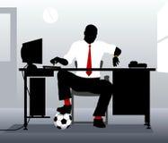 Football desk Stock Image