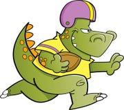 Football dinosaur Royalty Free Stock Image