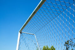 Football doorframe Royalty Free Stock Image