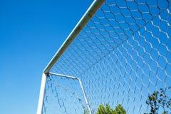 Football doorframe Royalty Free Stock Image