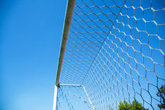 Football doorframe Stock Images