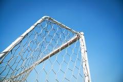 Football doorframe Royalty Free Stock Photography