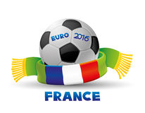 Football Euro 2016 in France Stock Images
