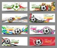 Football Event Banner Header stock illustration