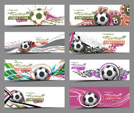 Football Event Banner Royalty Free Stock Image