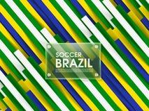 Football Event Design Template. Stock Image