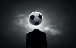 Football face Royalty Free Stock Photography