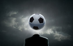 Football face Royalty Free Stock Images