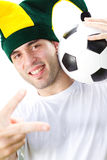 Football fan Stock Photo