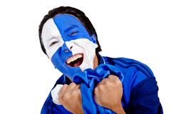 Football fan Royalty Free Stock Photography