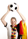 Football Fan Stock Image