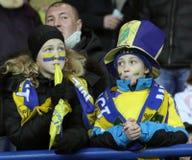 Football fans Royalty Free Stock Photos