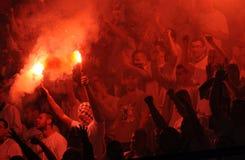 Football fans, hooligans