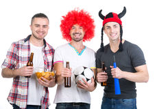 Football fans Royalty Free Stock Images