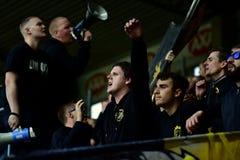 Football fans Royalty Free Stock Photo