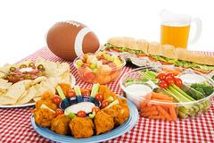 Football Feast Stock Images