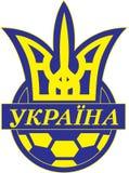 Football federatio of ukraine logo Royalty Free Stock Photo