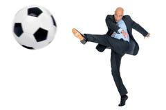 Football fever Stock Image