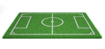 Football field Royalty Free Stock Image